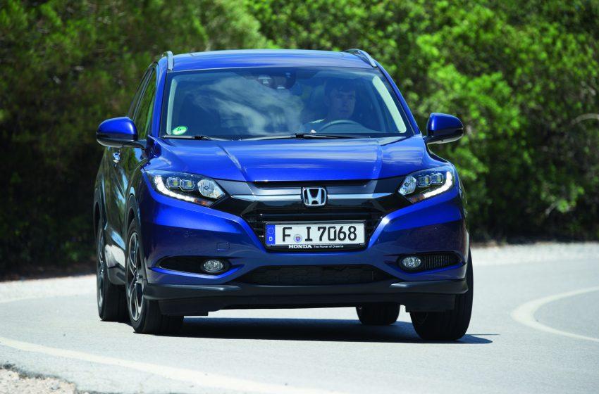 Honda HR-V Nisan 2016'da Türkiye'de