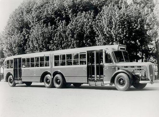 İlk metrobüs Alfa Romeo'dandı