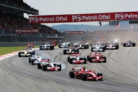 Ve İstanbul F1'e hazır