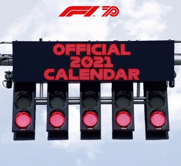 2021 F1 takviminde yokuz
