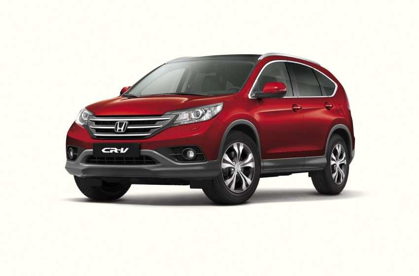 Yeni Honda CR-V bayilerde