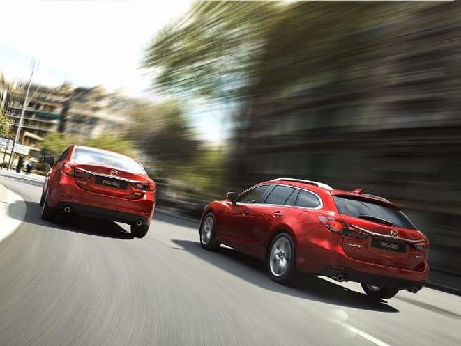 Mazda6 tehlikeleri algılıyor, çarpışmalardan kaçıyor