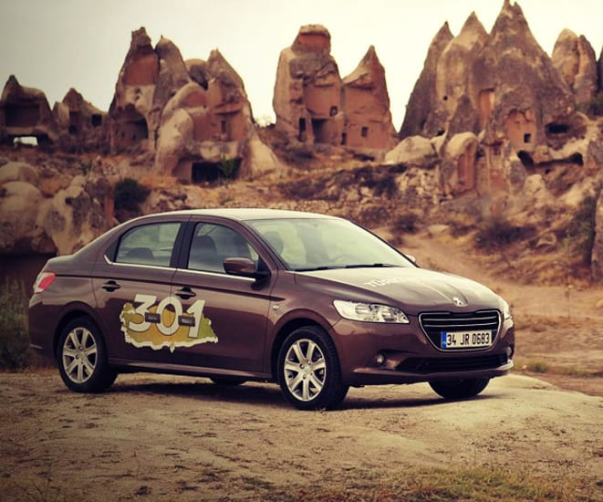 Yeni Peugeot 301 ile 30 Macera 1 Peugeot