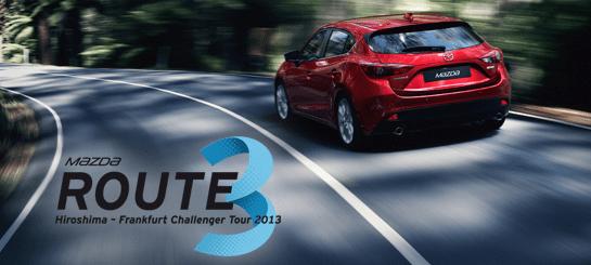 Hiroshima'dan Frankfurt'a Mazda3 test sürüşü