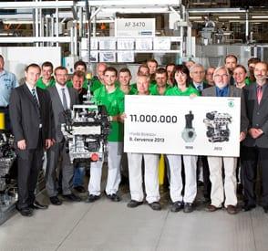 114 yılda 11 milyon motor