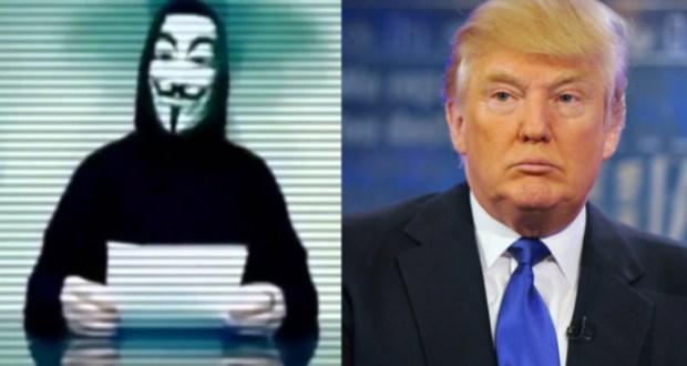 Анонимните срещу Доналд Тръмп