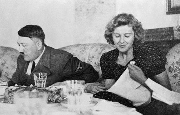 Вижте непоказвани голи снимки на жената на Хитлер - Ева Браун (18+)