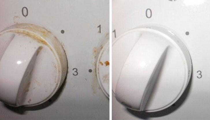 Копчетата са омазани тотално и не можете да ги почистите? С този трик всичко ще заблести за секунди!