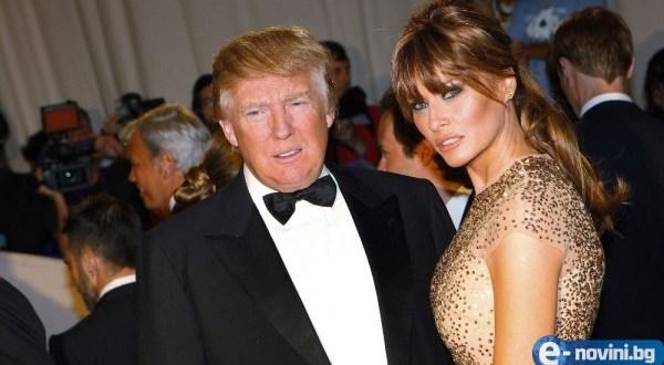 Вижте как Доналд Тръмп се изгаври с Мелания! Какъв дебил… (СНИМКА)