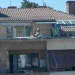 Столичанка на балкона