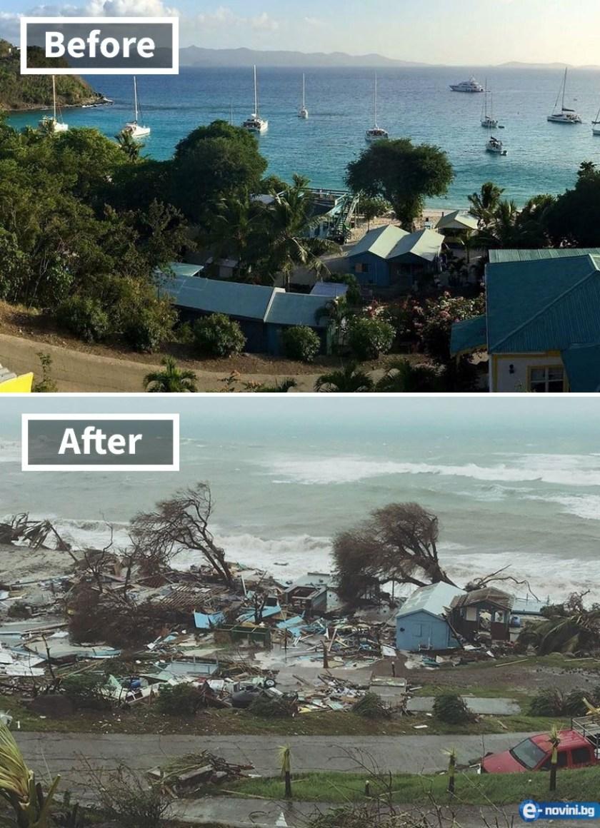 Последствията от ураганът Ирма