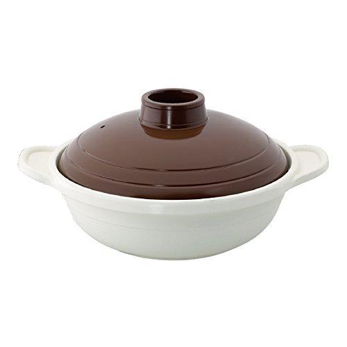 土鍋21cm(2〜3人用)卓上鍋 IH対応 アルミダイキャスト