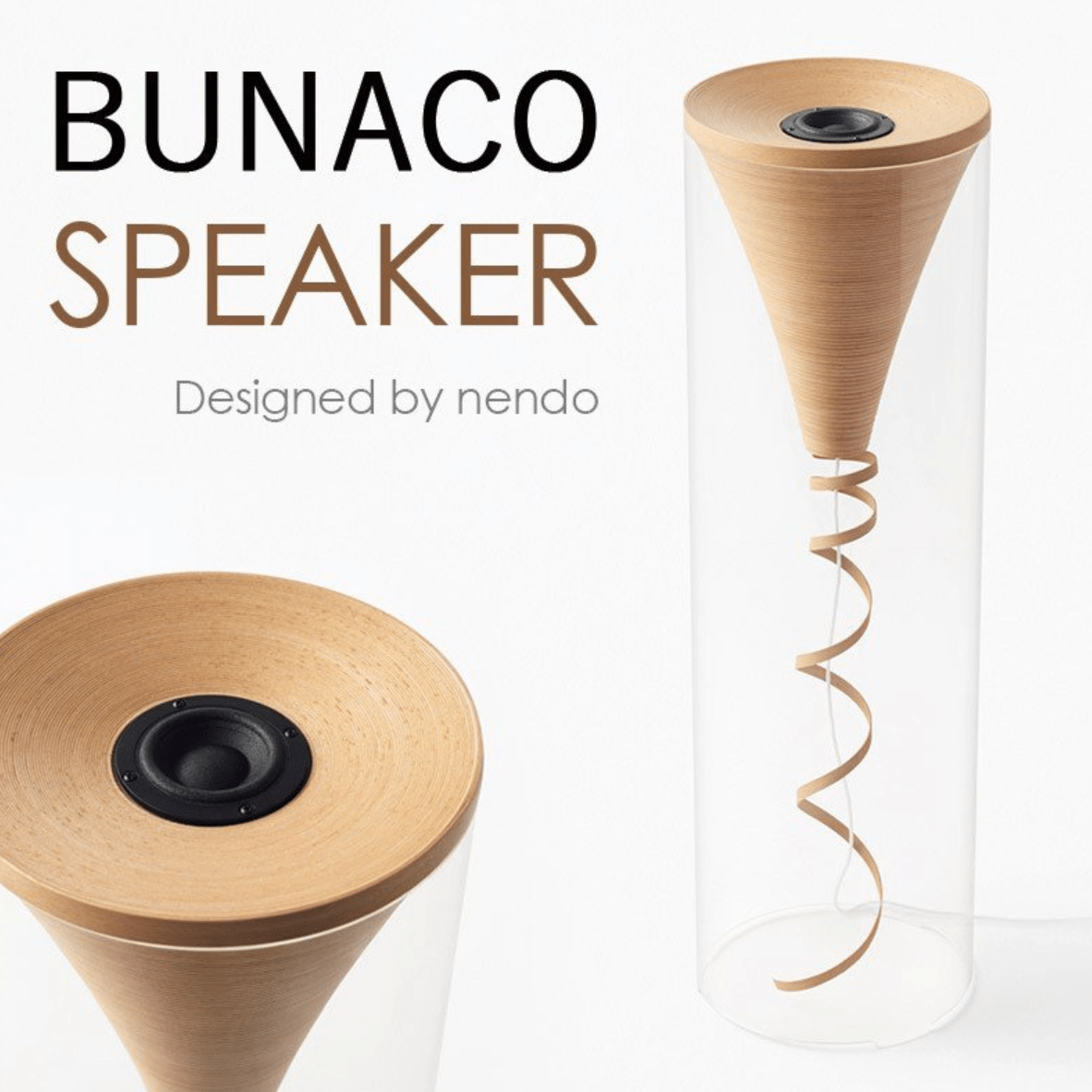 BUNACO SPEAKER designed by nendo