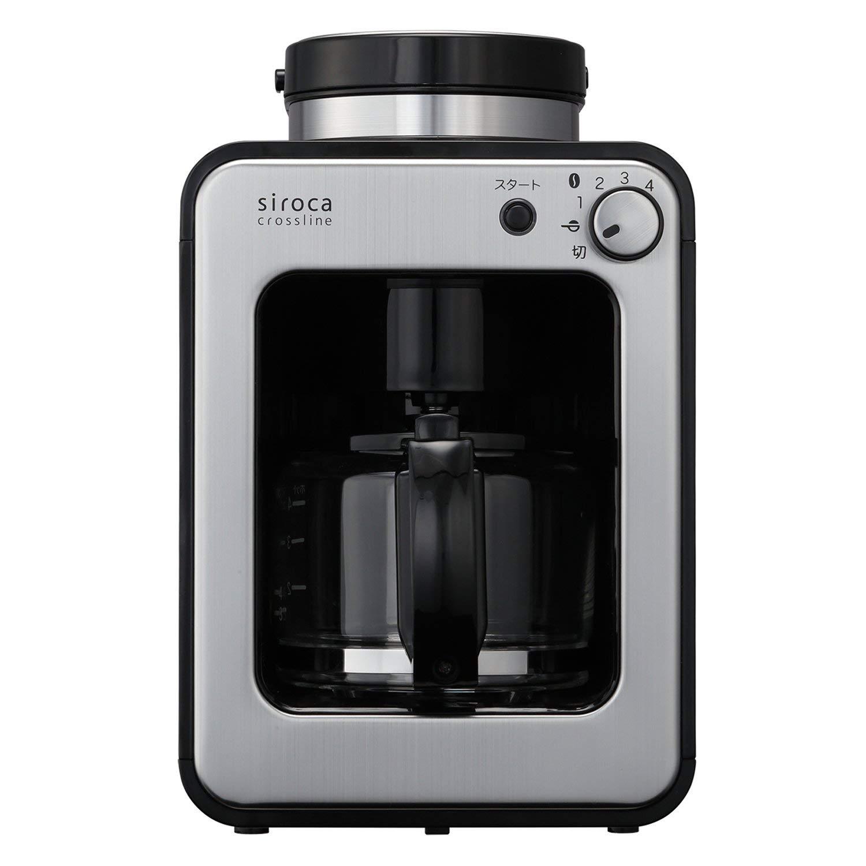 siroca 全自動コーヒーメーカー SC-A221SS