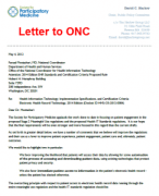 Click to open letter to ONC (PDF, 183k)