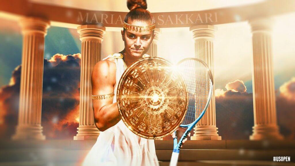 Η Μαρία Σάκκαρη γράφει ιστορία - Για πρώτη φορά στους 4 του US Open