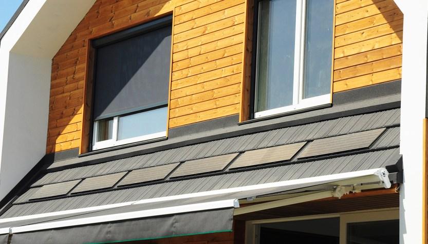 Passive solar home.