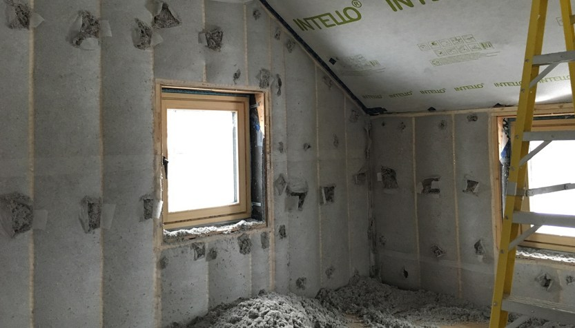 Insulation in home.