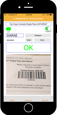 Ticket Scanning App