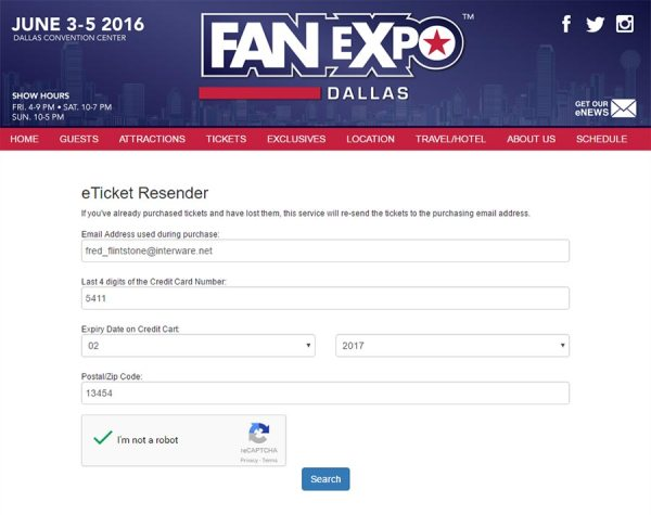 e-Ticket Resender page 1