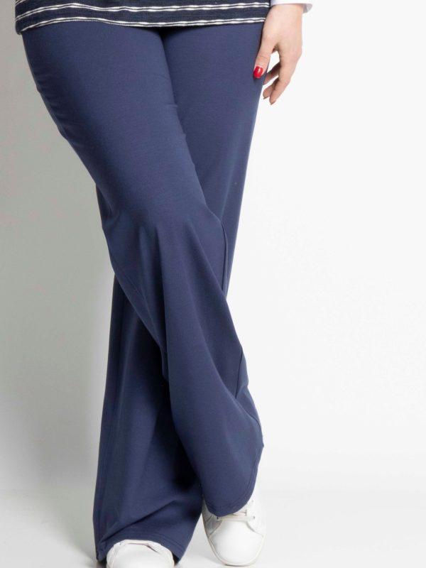 Παντελόνα ελαστική μπλε