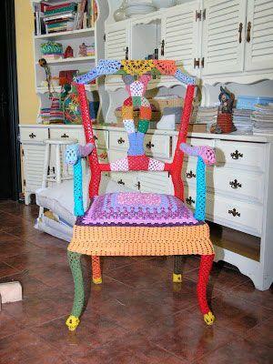 Urban knitting Zamora