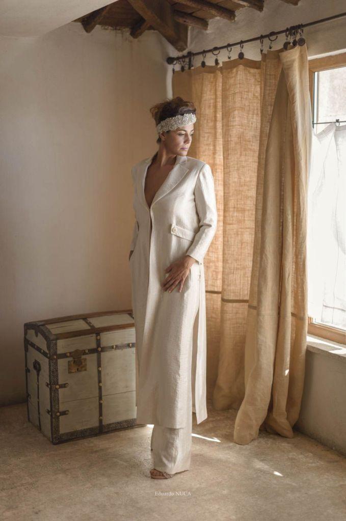 San Miguel, editorial de vestidos de novia en colaboración con Eduardo Nuca.