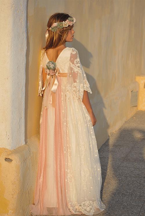 San Miguel, vestidos de comunión efecto Mon Air