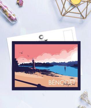 """Carte postale """"Bénodet"""""""