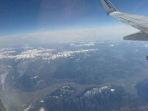 Alpy z lotu ptaka