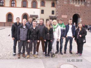 Cała ekipa z ZSP nr 1 w Praszce