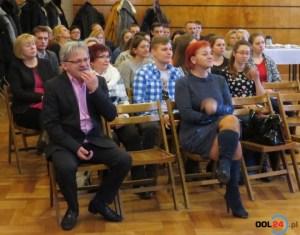 Najpierw było spotkanie i wykład dr Witolda Potwory (na pierwszym planie)