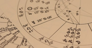 Abschnitt eines Astrogramms