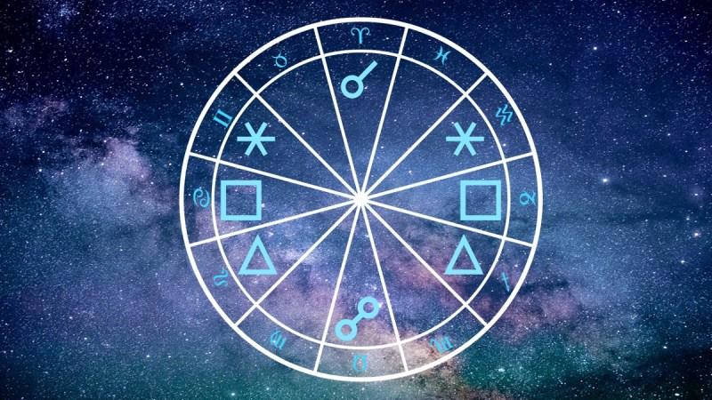 Hauptaspekte in der Astrologie