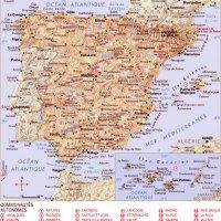 Carte Espagne - Images et Photos