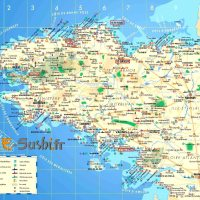 Carte Bretagne Sud - Images