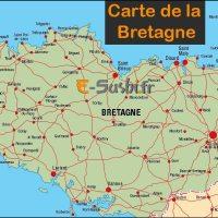 Carte de Bretagne Nord - Images