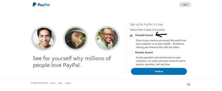 كيفية عمل حساب باي بال وربط بطاقات الدفع به