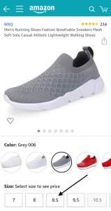 كيف تعرف مقاس حذائك عند التسوق عبر الإنترنت