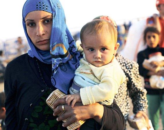 κούρδοι πρόσφυγες