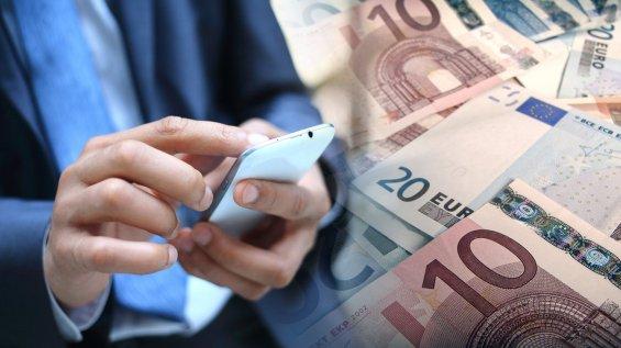 κινητά,χρήματα