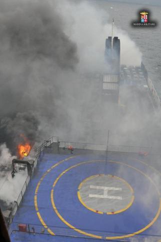 φλόγες πλοίο 1