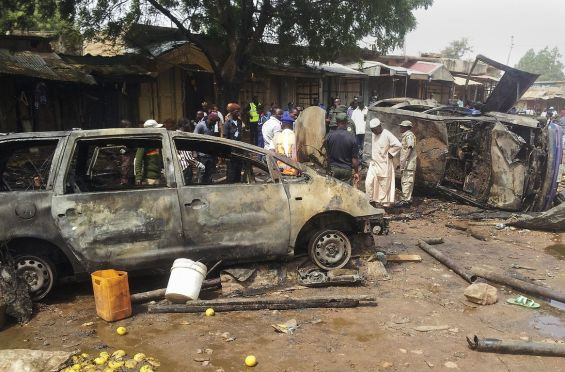Bomb blast at Dukku bus rank in Gombe