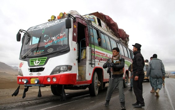 Bus attacked in Afghanistan