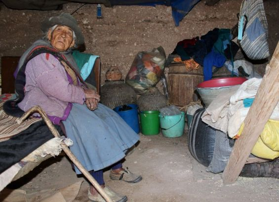 THE OLDEST WOMAN IN PERU