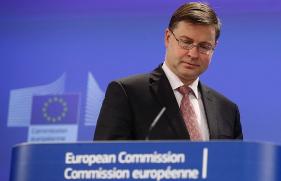 European Commission Vice-President in charge of the Euro and Social Dialogue Valdis Dombrovskis
