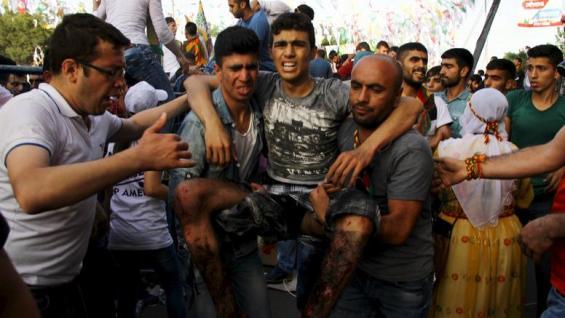 τουρκία τραυματίας