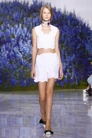 Dior Fashion Show, Ready to Wear Collection Spring Summer 2016 in Paris
