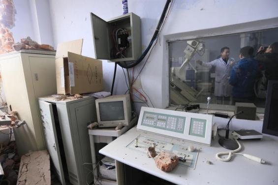 China Hospital Bulldozed