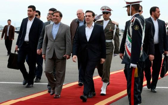 Mideast Iran Greece